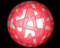 Bola de goma Fotos de archivo libres de regalías