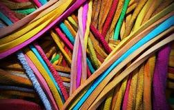 Bola de goma coloreada Fotografía de archivo libre de regalías