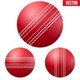 Bola de grilo vermelha brilhante tradicional ilustração do vetor