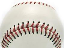 Bola de juego de béisbol aislada Fotografía de archivo libre de regalías
