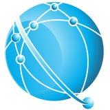 Bola de la órbita stock de ilustración