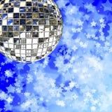 Bola de la bola del espejo Imagen de archivo