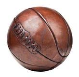 Bola de la cesta del vintage Foto de archivo libre de regalías