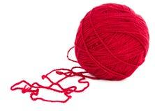 Bola de la cuerda de rosca Imagen de archivo
