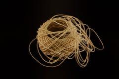 Bola de la cuerda del cáñamo Foto de archivo libre de regalías