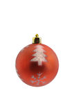Bola de la decoración de la Navidad Imagen de archivo