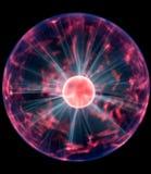 Bola de la electricidad Fotografía de archivo libre de regalías