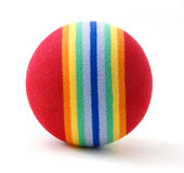 Bola de la espuma del golf Imagen de archivo libre de regalías