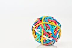 Bola de la goma Fotos de archivo libres de regalías