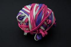 Bola de la goma Fotografía de archivo libre de regalías