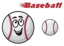 Bola de la historieta del béisbol libre illustration