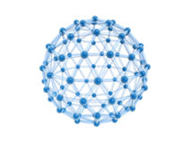 bola de la jaula de la red 4g stock de ilustración