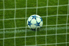Bola de la liga de la UEFA Champions' Imagen de archivo libre de regalías