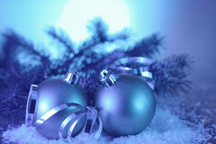 Bola de la Navidad Imágenes de archivo libres de regalías
