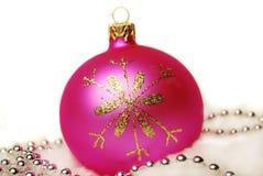 Bola de la Navidad. Foto de archivo