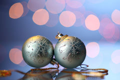 Bola de la Navidad Imagen de archivo libre de regalías