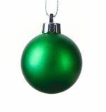 Bola de la Navidad aislada en blanco Fotografía de archivo