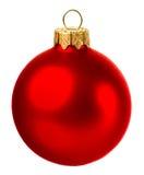 Bola de la Navidad aislada en el fondo blanco Fotos de archivo