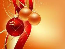 Bola de la Navidad de Thee Fotografía de archivo
