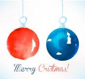 Bola de la Navidad Decoración de la Navidad Fotos de archivo