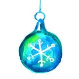 Bola de la Navidad Decoración de la Navidad Fotografía de archivo libre de regalías