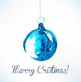 Bola de la Navidad Decoración de la Navidad Imagen de archivo libre de regalías