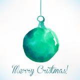 Bola de la Navidad Decoración de la Navidad Imagen de archivo