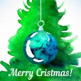 Bola de la Navidad Decoración de la Navidad Imagenes de archivo