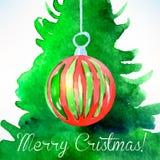 Bola de la Navidad Decoración de la Navidad Imágenes de archivo libres de regalías
