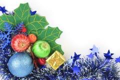 Bola de la Navidad del fondo. Foto de archivo libre de regalías
