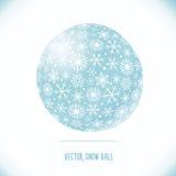 bola de la nieve Imagenes de archivo