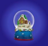 Bola de la nieve de la Navidad Fotografía de archivo libre de regalías