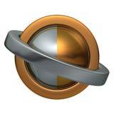 Bola de los anillos 3 Imagenes de archivo
