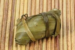 Bola de masa hervida china del arroz Fotografía de archivo libre de regalías