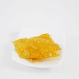 Bola de masa hervida curruscante frita deliciosa china (wonton) imágenes de archivo libres de regalías