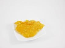 Bola de masa hervida curruscante frita deliciosa china (wonton) fotos de archivo libres de regalías