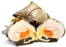 Bola de masa hervida del arroz Imágenes de archivo libres de regalías