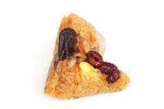 Bola de masa hervida pegajosa china del arroz foto de archivo libre de regalías