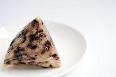 Bola de masa hervida pegajosa china del arroz Imágenes de archivo libres de regalías