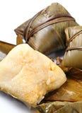 Bola de masa hervida tratada con vapor del arroz imágenes de archivo libres de regalías
