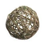 Bola de mimbre de las ramas del sauce Imagen de archivo