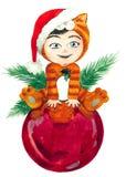 Bola de Navidad fotos de archivo