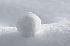 Bola de nieve Imagen de archivo