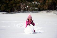 Bola de nieve del invierno Foto de archivo