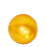 Bola de oro imagenes de archivo