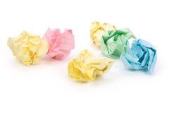 Bola de papel Imagenes de archivo