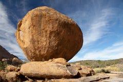 Bola de piedra Foto de archivo libre de regalías