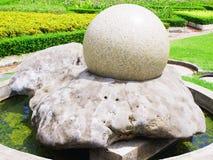 Bola de piedra Imagenes de archivo