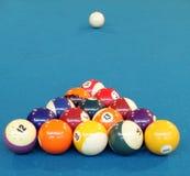 Bola de piscina Fotografía de archivo