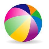 Bola de playa Imagen de archivo libre de regalías